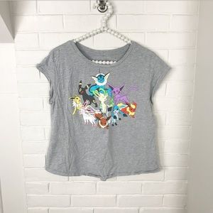 {Pokémon} Girls Graphic Tee Shirt